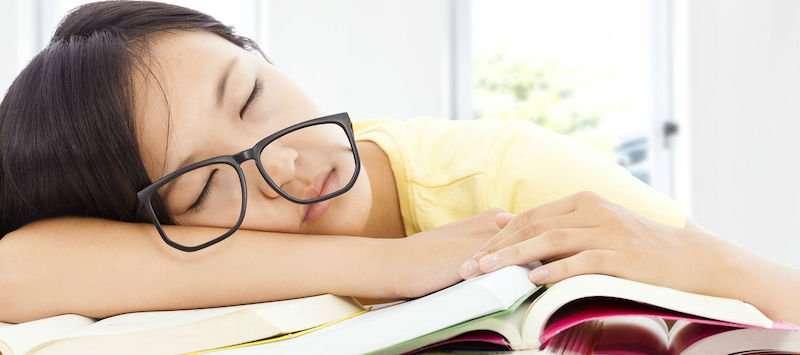 come studiare quando si è stanchi