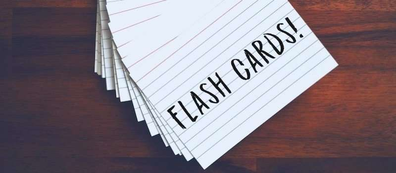Flash cards: metodo facile per memorizzare rapidamente